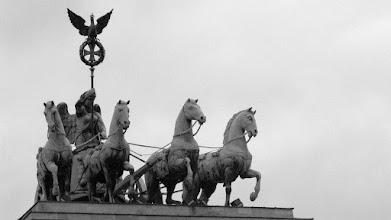 Photo: Top of Brandeburg Gate