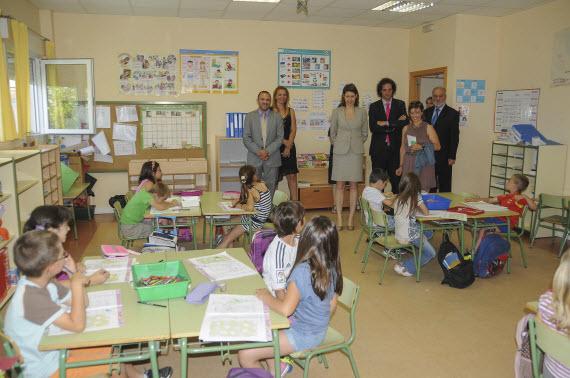 El colegio Puerta de la Sierra, de Venturada, se suma al programa bilingüe