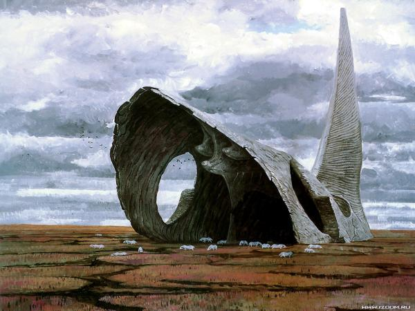 Cave Of White Horns, Magical Landscapes 2