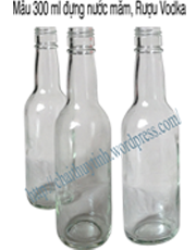 Bạn có thể lựa chọn loại chai thủy tinh có dung tích này cho công việc kinh doanh của mình