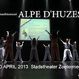 "Alpe d""HuZes 20-04-2013  Stadstheater"