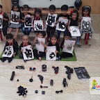 Black Day Celebrated by Playgroup - Afternoon Section at Witty World, Chikoowadi (2017-2018)