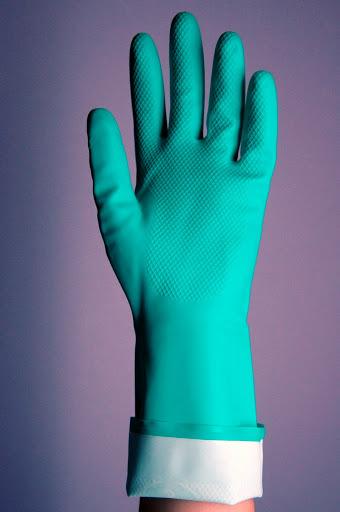 Găng tay cao su chống dầu Malaysia RNF18 + Marigold - GCS0008
