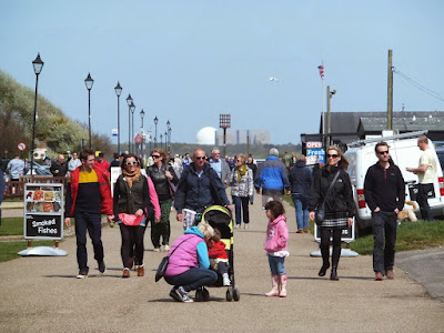 Aldeburgh crowds