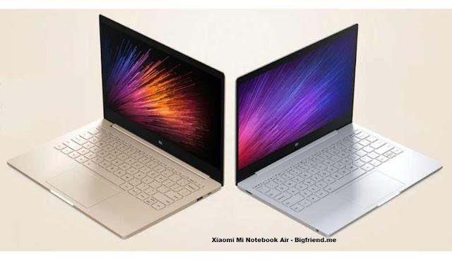 harga Laptop Xiaomi Mi Notebook Air pro
