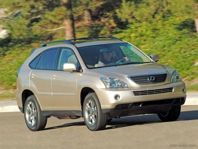2006 lexus rx 400h suv specifications pictures prices. Black Bedroom Furniture Sets. Home Design Ideas