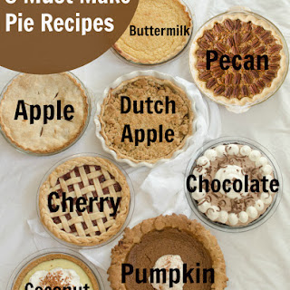 8 Pie Recipes