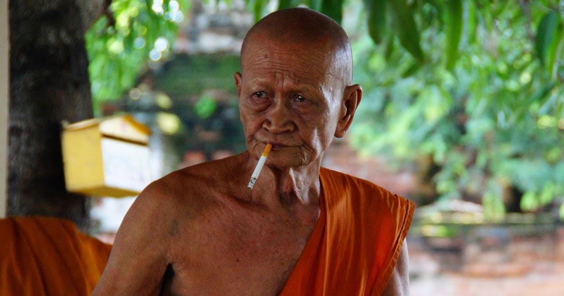 The Buddha's Face - www.thebuddhasface.co.uk: Smoking Thai ...