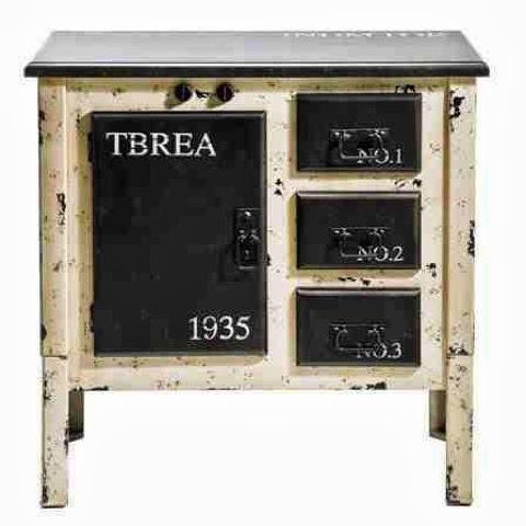 Old oven cooker dresser cabinet