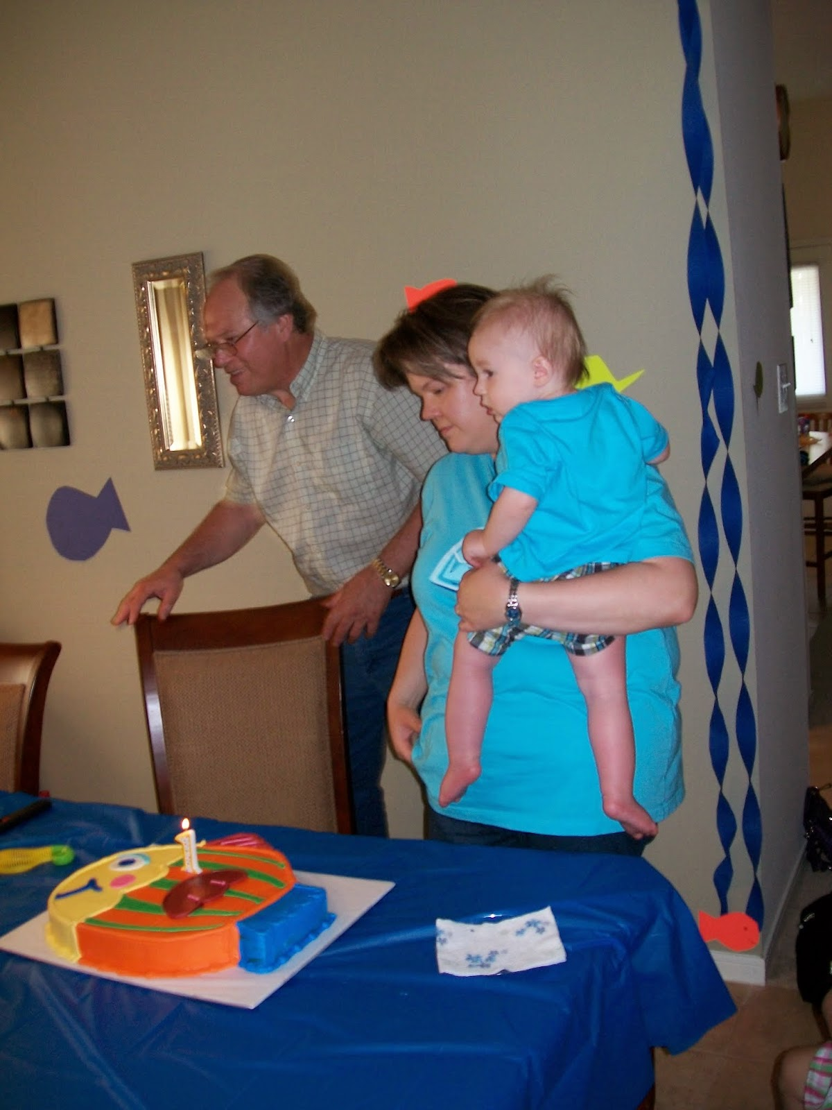 Marshalls First Birthday Party - 100_1405.JPG