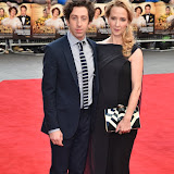 OIC - ENTSIMAGES.COM - Jocelyn Towne and Simon Helberg at the  Florence Foster Jenkins - world film premiere at the Odon Leicester Sq London 12th April 2016 Photo Mobis Photos/OIC 0203 174 1069