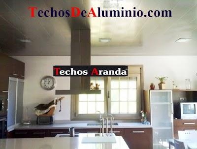Precios economicos techos cocinas Madrid