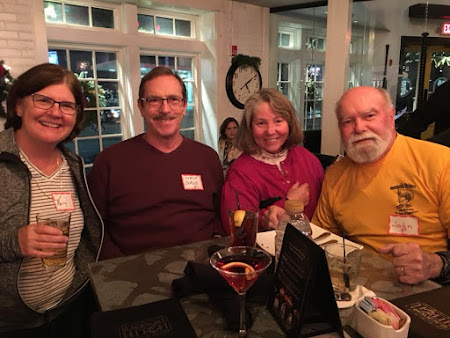 Mary Smith, Coach David Dold, Kathy Hanson & John Purgason celebrating a year of big fun