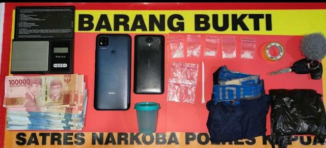 Apes Belum Tuntas Transaksi Narkoba, Dua Lelaki Ini Sudah Diciduk Polisi
