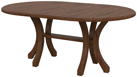 Montrose Round Conferrence Table in Cherry Cocoa