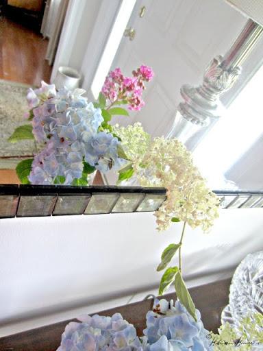 FLOWERS BUTTERFLIES & RABBITS