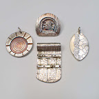 2016.07.13: Layered Silver Pendants 11 am to 3:30 pm at The Artsmiths of Pittsburgh (Mt. Lebanon)