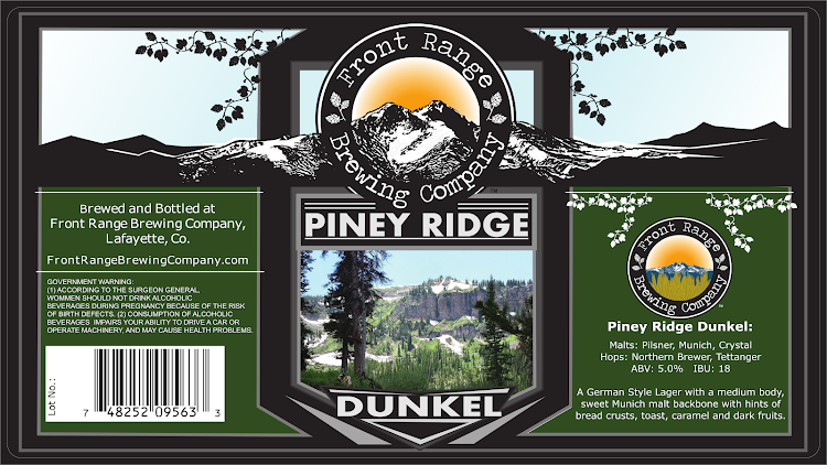 Logo of Front Range Piney Ridge Dunkel
