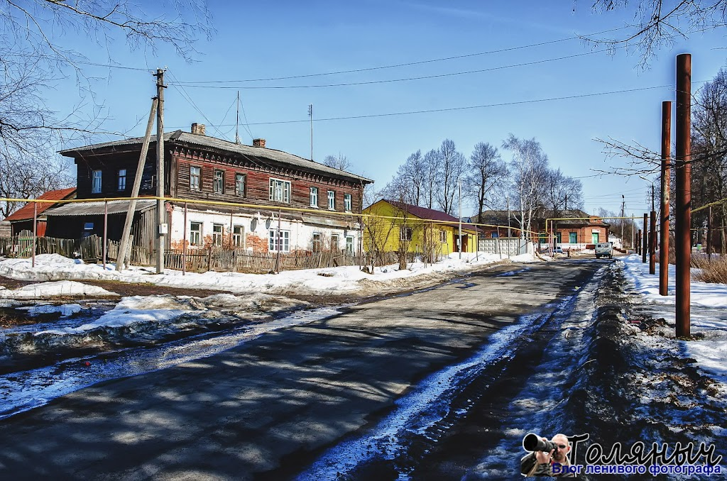 Поселок Ханинос 1944 по 1958 годы был районным центром. В то время там проживало почти 2 с половиной тысячи человек.