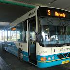 Wrightbus Commander bus 6228 met lijn 5 naar Warande van Arriva