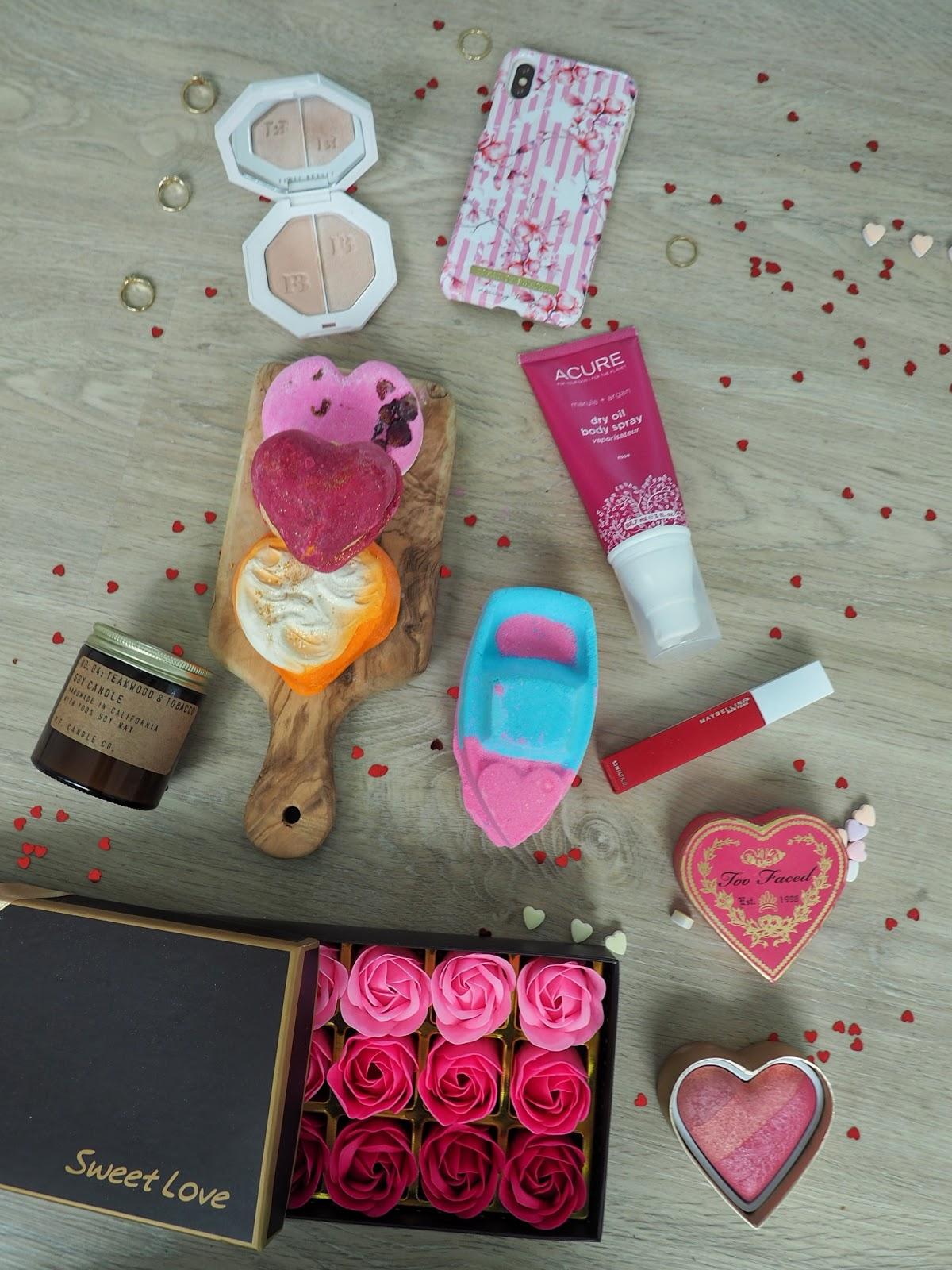 seattle blogger lifestyle beauty flatlay candle lush fenty