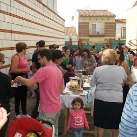 Fiesta de otoño y visita de Alborada