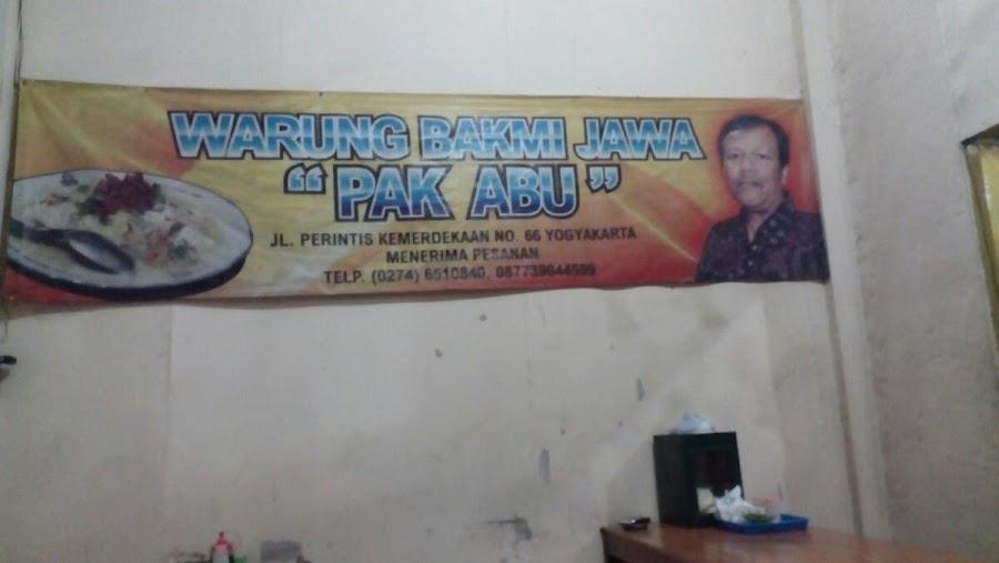 Warung Bakmi Jawa
