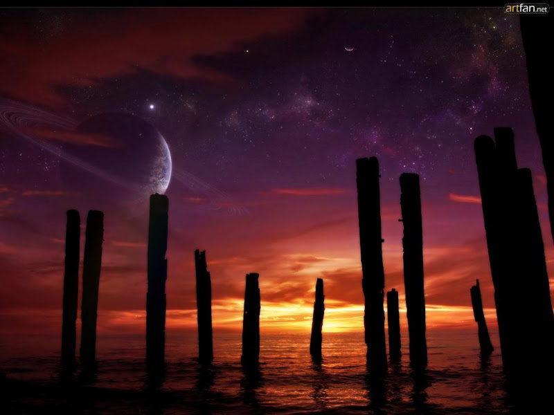 Nightmare Of Lands 34, Magical Landscapes 4