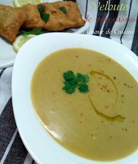 Soupe au pois cassés «bissara»