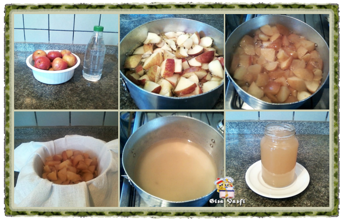 Pectina de maçãs