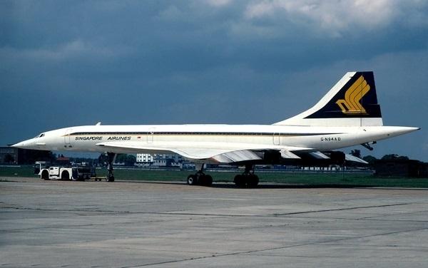 콩코드 싱가포르항공