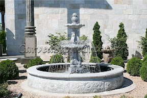 Exterior, Fountains, PoolSurround, Tiered