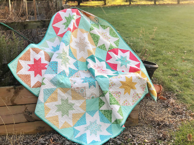 Abloom quilt by Jessica Dayon from her book, Season to Taste (Martingale publishing)