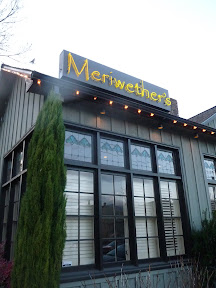 exterior of Meriwether's restaurant in Portland