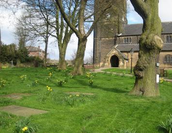 St Michael's in spring