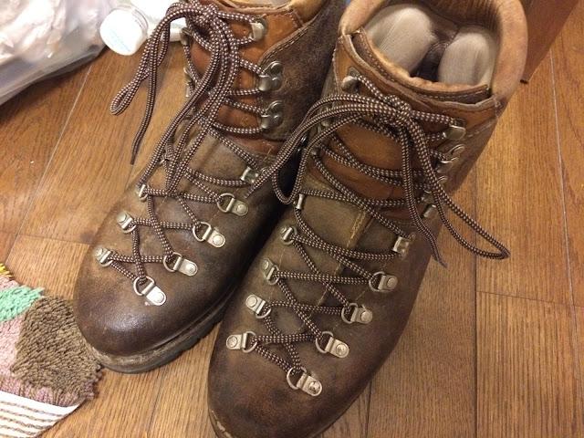 マインドル 登山靴
