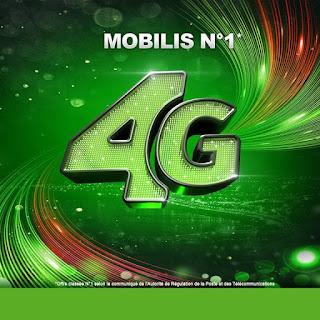 Mobilis arrive en tête du classement de l'appel d'offre de la 4G