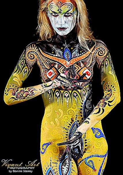 Bodypainting  Gallery I » Bodypainting Photography Body Painting