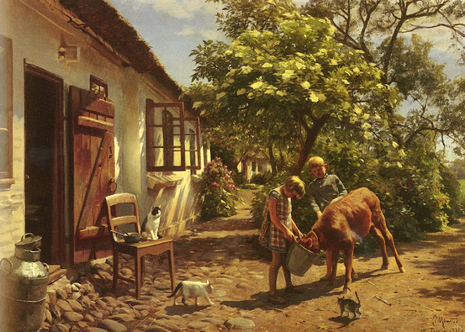 Peder Mork Monsted - Feeding The Calf