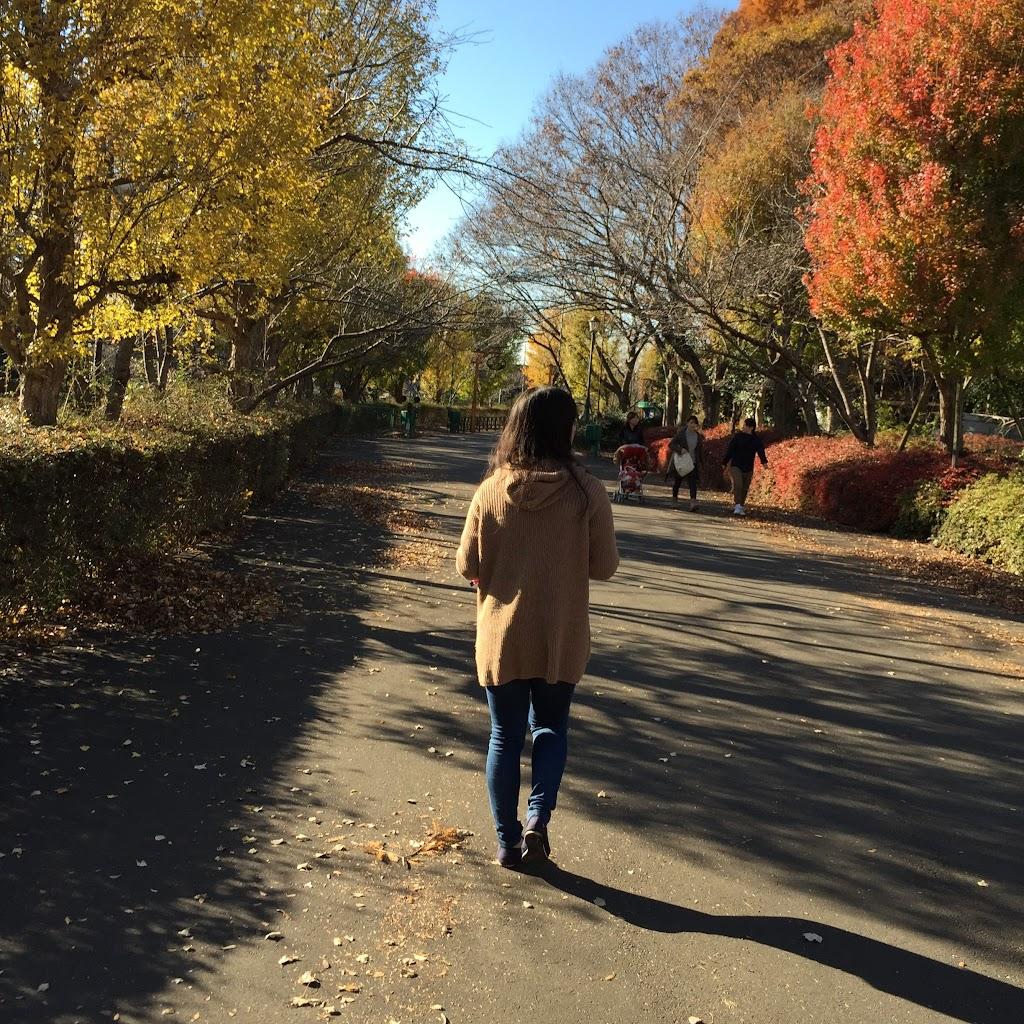東武動物公園 紅葉
