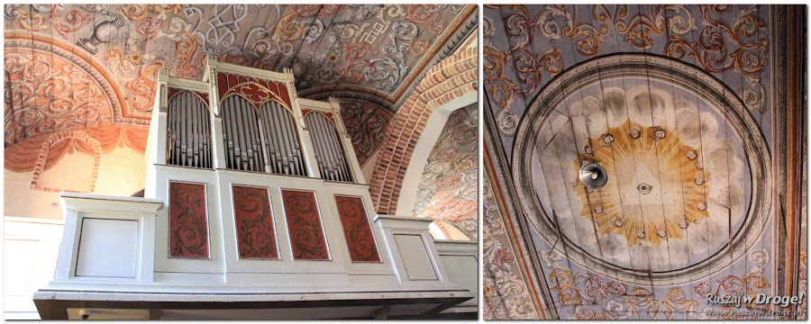 Mątowy Wielkie - wnętrza kościoła