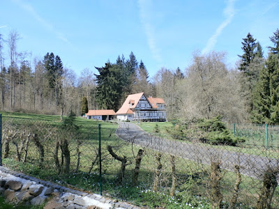 Schön war es auch in Ilbeshausen am EarthcacheGeopfad-Station Gneis