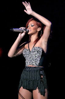 American songstress Rihanna