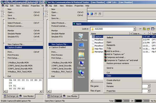ASE2000 - Capture Data - Simpan Data Rekaman
