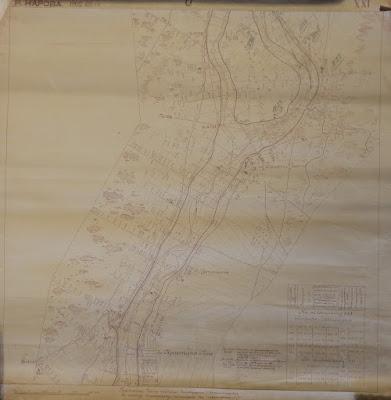 Часть карты 1902-03 гг.