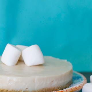 Vegan Marshmallow Cheesecake.