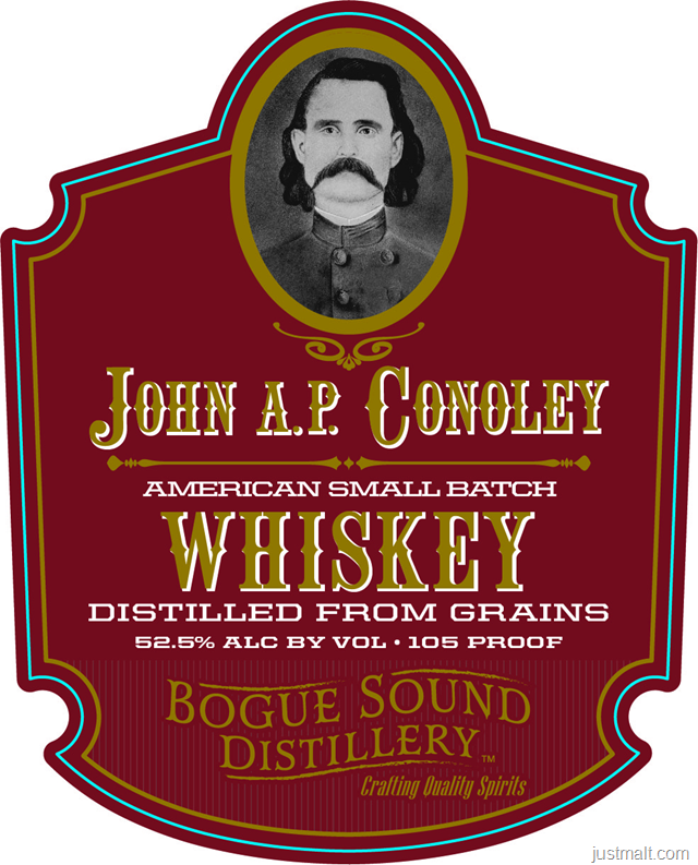 Bogue Sound Distillery John A.P. Conoley American Small Batch Whiskey