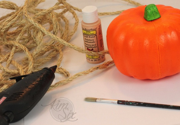 Rope Pumpkin Supplies