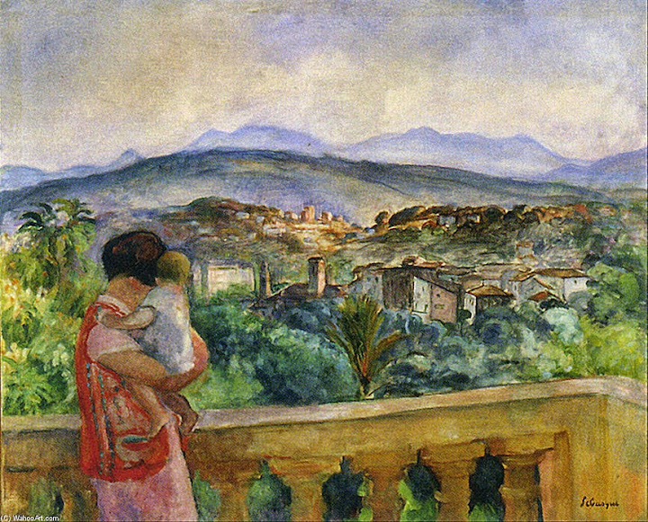 Henri Lebasque - Cannes in Spring