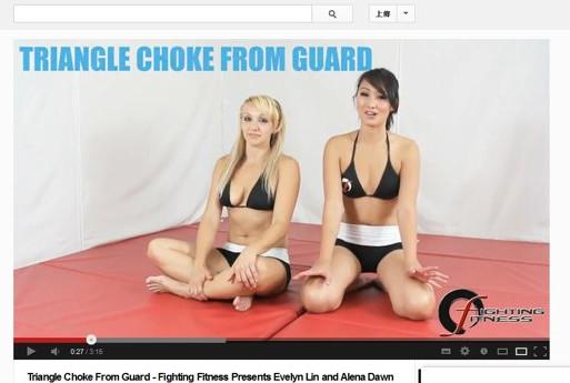 火辣女教練傳授戰鬥健身